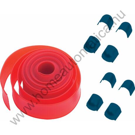 6 m-es piros gumi Bft sorompókarhoz