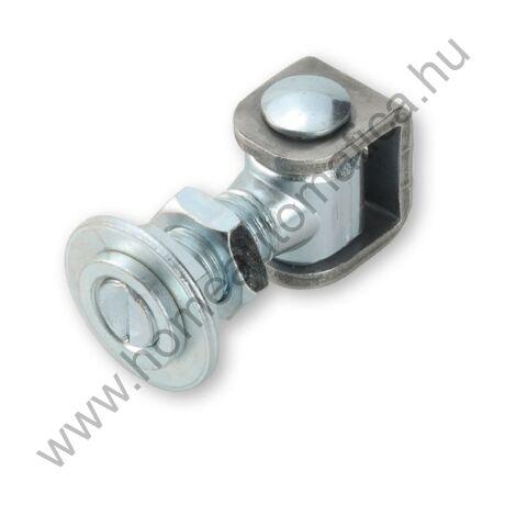 Hegeszthető, állítható kapuzsanér (M18)