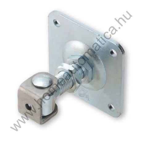 Csavarozható, állítható talpas kapuzsanér (M18)